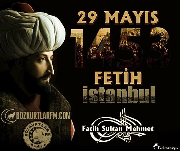İstanbul'un fethinin 562.Yıldönümü