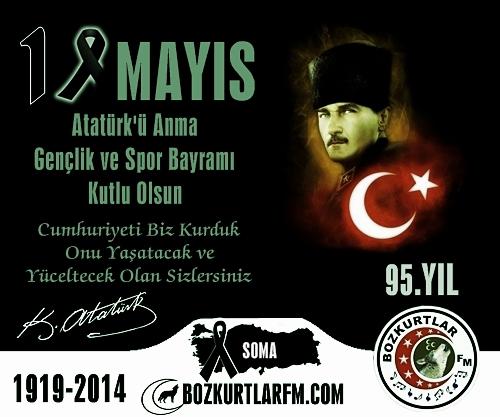 19 Mayıs Atatürk'ü Anma, Gençlik ve Spor Bayramı 2014