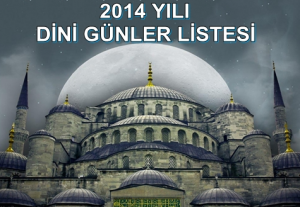 2014_dini_gunler_tarih_liste