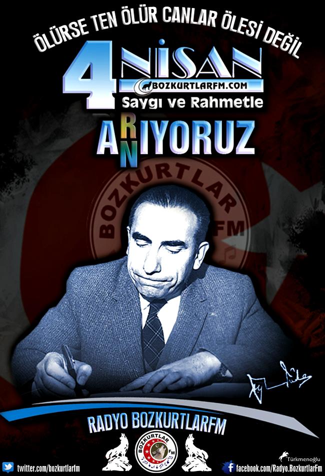 Başbuğ Alparslan Türkeş'i Vefatının 19. Yılında Saygı Ve Rahmetle Anıyoruz