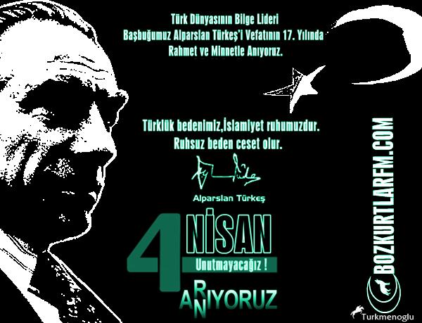 Başbuğumuz Alparslan Türkeş'i Vefatının 17. Yılında