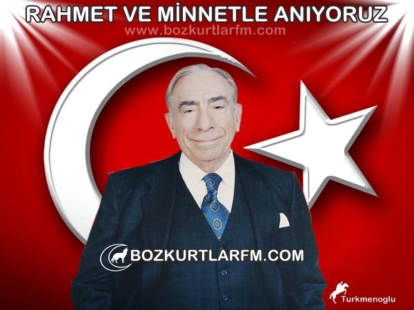 Bilge Lider Başbuğ Alparslan Türkeş Bey'in Vefatının 15.Yıldönümü