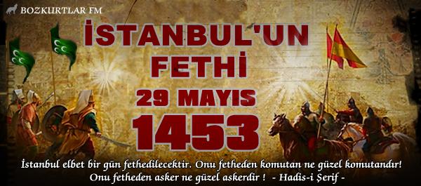 İstanbul'un Fethinin Yıldönümü Nedeniyle Yapılan Basın Açıklaması