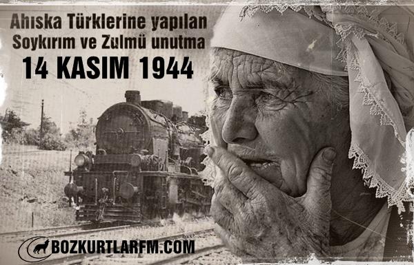 Ahıska Türklerine yapılan Soykırım ve Zulmü Unutma