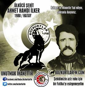 Ahmet Hamdi İLKER – Ülkücü Şehit – 1980 – Hatay