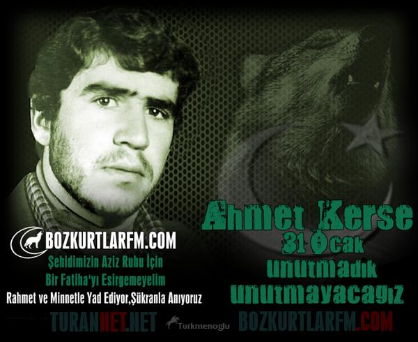 Ülkücü Şehit AHMET KERSE – 31 Ocak 1983