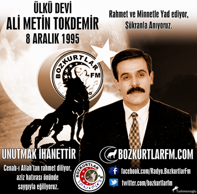 Ali Metin TOKDEMİR – 8 Aralık 1995 – Rahmet ve Minnetle