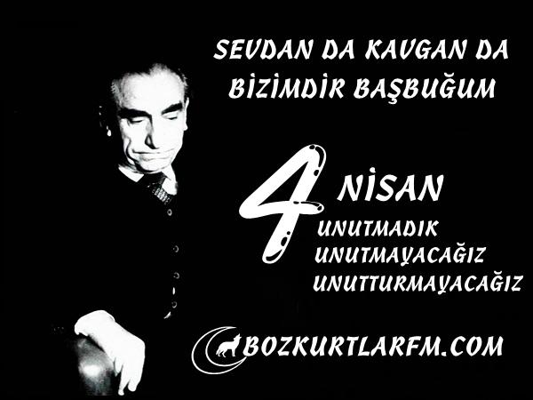 Bilge Lider Başbuğ Alparslan Türkeş Bey'in Vefatının 16.Yıldönümü