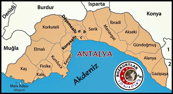 ANTALYA – Tarihi – Resimleri – Coğrafi Bilgiler – Turizm – Nasıl Gidilir