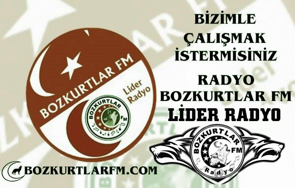 Bizimle Çalışmak İstermisiniz – Radyo Bozkurtlar Fm