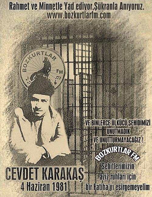Cevdet Karakaş – Ülkücü Şehit – 4 Haziran 1981