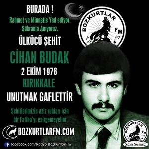 Cihan Budak – Ülkücü Şehit – 2 EKİM 1978