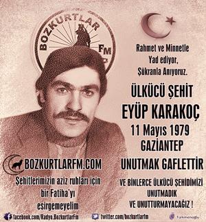 Eyüp Karakoç – Ülkücü Şehit – 11 Mayıs 1979