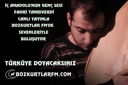 Fahri Tanrıverdi-Canlı Yayın-Türkü Gecesi