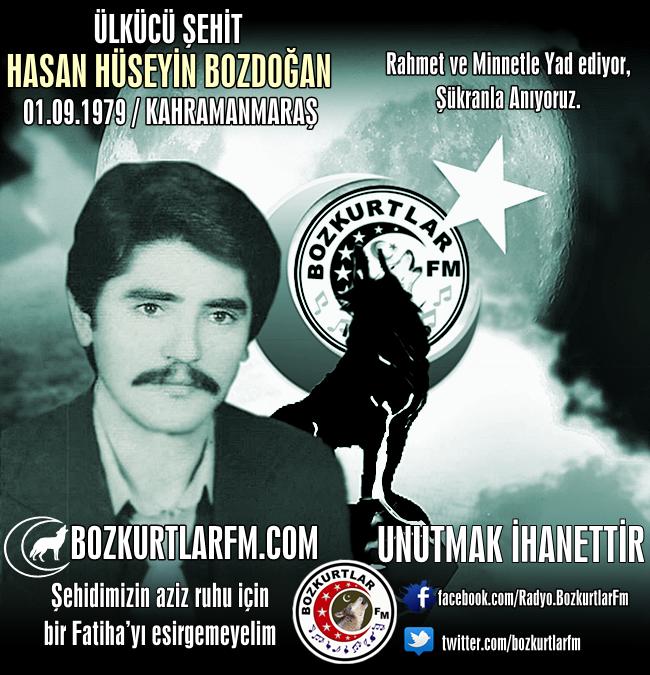 Hasan Hüseyin BOZDOĞAN – Ülkücü Şehit – Kahramanmaraş