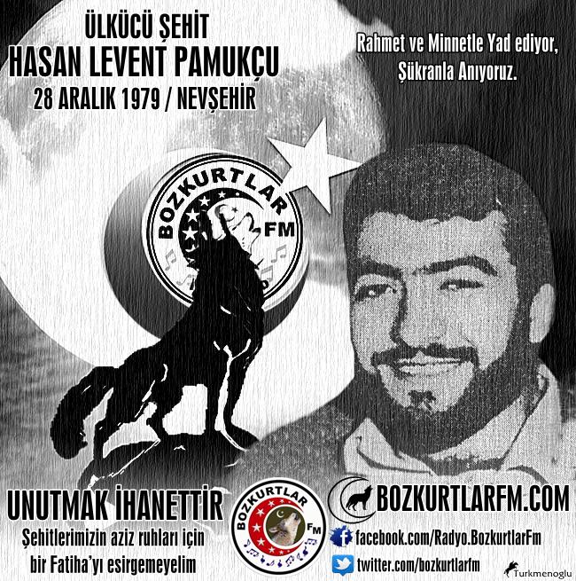 Hasan Levent PAMUKÇU – Ülkücü Şehit – Nevşehir