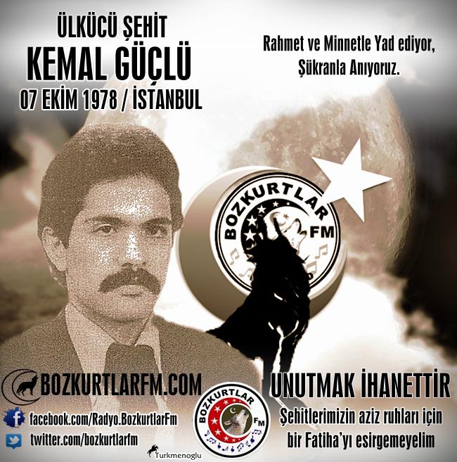 Kemal GÜÇLÜ – Ülkücü Şehit – İstanbul