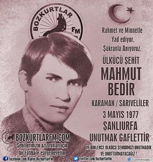 Mahmut Bedir – Ülkücü Şehit – 3 Mayıs 1977