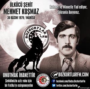 Mehmet KOŞMAZ – Ülkücü Şehit – Manisa