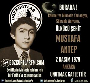 Mustafa Antep – Ülkücü Şehit – 2 Kasım 1979