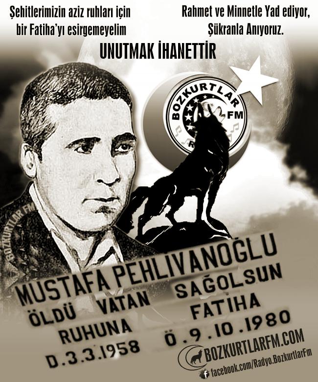 Mustafa Pehlivanoğlu – Ülkücü Şehit