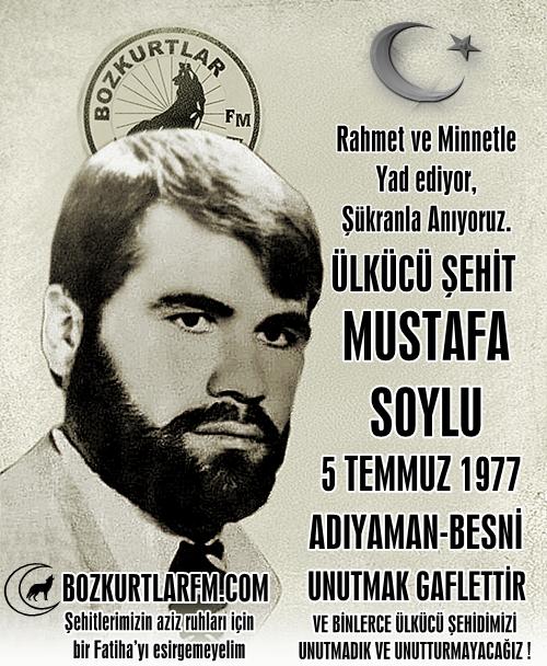 Mustafa Soylu – Ülkücü Şehit – 5 Temmuz 1977