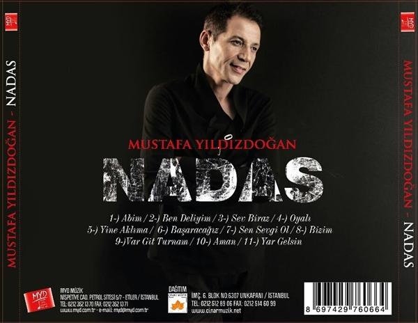 Mustafa Yıldızdoğan 2014 Nadas Albümü Çıktı