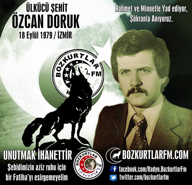 Özcan DORUK – Ülkücü Şehit – İzmir