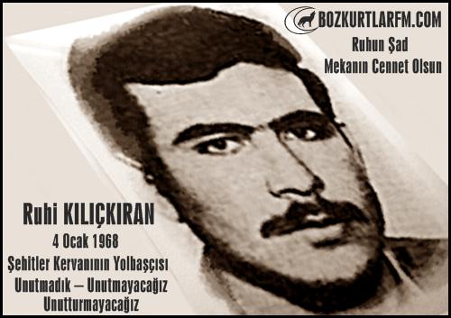 ruhi_kilickiran_ulkucu_sehit_4ocak_1968