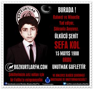 Sefa Kol – Ülkücü Şehit 15 Mayıs 1980