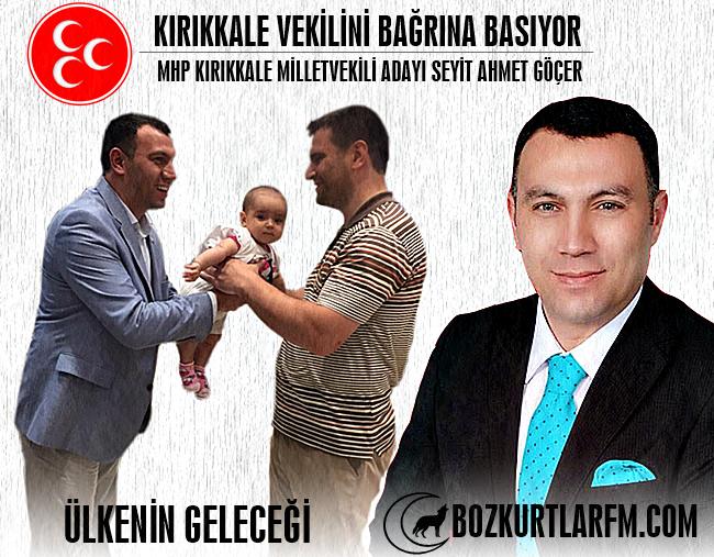 Kırıkkale Vekilini Bağrına Basıyor – Seyit Ahmet Göçer