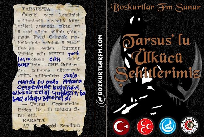 Tarsus'lu Ülkücü Şehitlerimiz Albümü