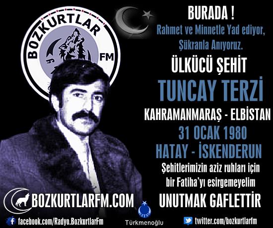 Tuncay Terzi – Ülkücü Şehit – 31 Aralık 1980