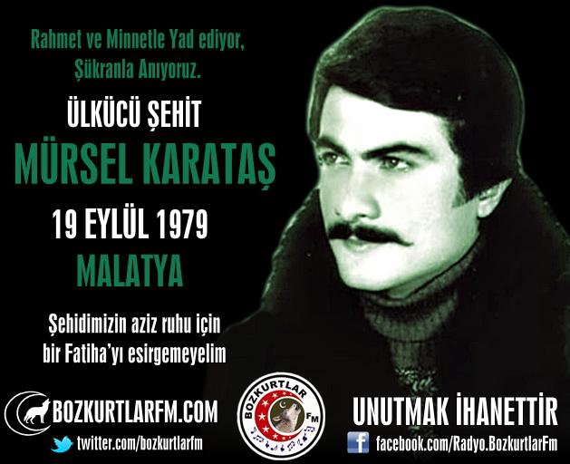 Mürsel KARATAŞ – Ülkücü Şehit – 19 Eylül 1979 – Malatya