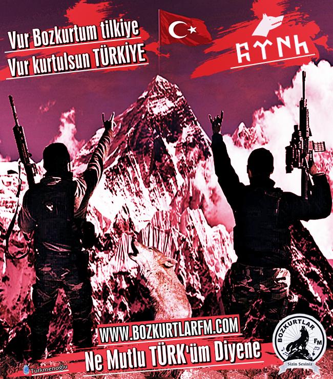 Vur Bozkurtum Tilkiye Vur Kurtulsun Türkiye